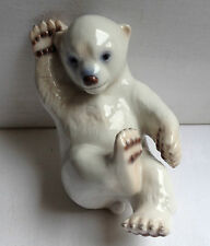 B & G ROYAL Copenhagen orso polare CUB Figurina porcellana 2537 Danimarca