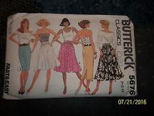 Butterick Classics 5676 Sz P-S-M(6 -14).. Preowned.not used. Ladies.