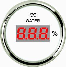 52mm White Digital Water level gauge PEW2-WS-240-33 (800-00110) 240-33ohm signal