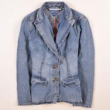 1110cf3b47d6 Tommy Hilfiger Damen Jacke Jacket Gr.12 (DE 40) Jeansjacke Sakko Blau,