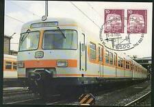Berlin Eisenbahn auf Maxikarte