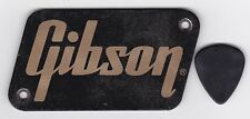 VINTAGE GIBSON AMPLIFIER NAMEPLATE BADGE INSIGNIA