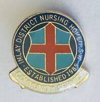 Imlay District Nursing Home NSW Small Lapel Pin Badge Rare Vintage (J10)