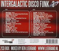 INTERGALACTIC DISCO FUNK 3-MIXED BY BEN LIEBRAND - LINDA LEWIS - 2 CD NEU
