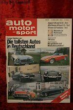 AMS Auto Motor Sport 6/80 * Jaguar XJ 6 XJ 12 Toyota Corolla Citroen CX