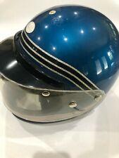 Vintage 1970's NJL Metallic Glitter Snowmobile Helmet