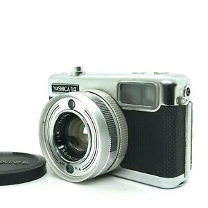 【OVERHAULED NEAR MINT++】Yashica Half14 Frame 35mm Film Camera W/32mm f/1.4 JAPAN