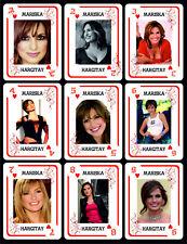 MARISKA HARGITAY 1 BOX WITH 54 POKER PLAYING CARDS - ARGENTINA! - NIB