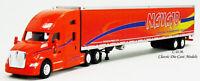 Kenworth T680 Orange Sleeper Cab NAVAJO w/53' Reefer Trailer 1/87 HO TNS120