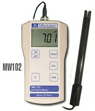 Milwaukee MW102 Smart pH/°C Temp Water Temperature Meter Replaces SM102