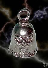 SKULL Guardian® Motorcycle Ride Bell PLUS FREE ANGEL PIN