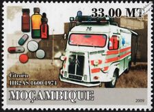 1974 Citroen HB2AS Tipo H van ambulancia vehículo/del coche Sello (2009)