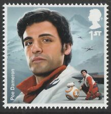 GB Star Wars Poe Dameron single (1 stamp) MNH 2019
