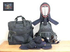 Kendo Uniform Do Bogu Set Japanese Martial Arts Armor L - XL Size F/S