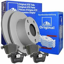 ATE Bremsscheiben + Bremsbeläge für Audi A4 B6/B7 245mm HINTEN VOLL 1KD