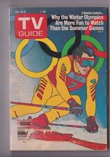 Feb 13-19 1988 Winter Olympics TV Guide W/Mailing Label Removed