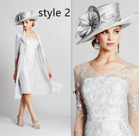 Elegant Mother Of The Bride/Groom Dress Suit 2 Pieces Outfits Formal Guest Gown