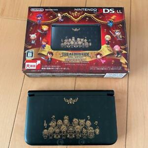 Nintendo 3DS LL Final Fantasy Theatrhythm Curtain Call Edition LTD FedEx DHL [C]