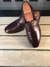 Giorgio Armani Men Brown Loafers Size 7 1/2