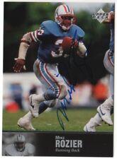 1997 Upper Deck Legends Auto Autograph Mike Rozier Oilers