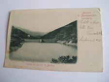 Cagliari - Miniere di Montevecchio veduta del bacino di Zerbino - spedita f. p.