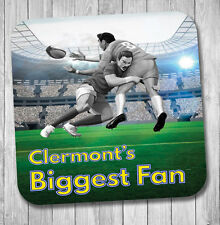 Clermont Fan Rugby Coaster - Birthday / Christmas Gift / Stocking Filler