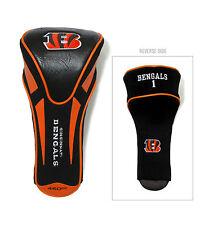 Cincinnati Bengals Apex Driver Head Cover 460Cc Nfl Licensed