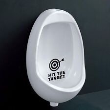 Hit The Target Waterproof Toilet Bathroom Sticker  Decals For Home Hotel OHK