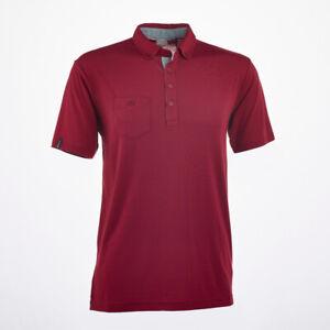 Ping Karsten 2 Golf Polo Shirt Redwood Size Large