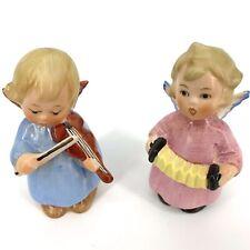 Goebel Hummel Singing Angels Miniature Vintage Playing Instruments 1970s