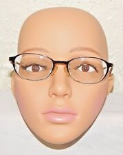 Mossimo Sunset Eyeglass Frames Brown & Black Oval Unisex 49 19 140