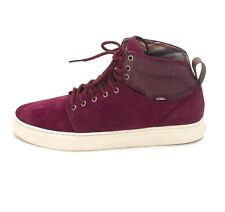 Vans Alomar (Well Worn) Wine Antique Suede Skate Shoes Mens Size 7