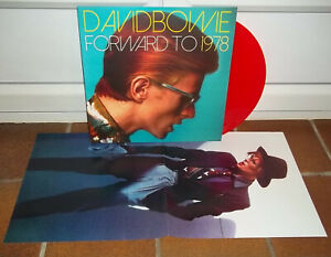 DAVID BOWIE forward to 1978 Live USA 1978 LP