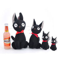 New Kiki's Delivery Service Jiji Cat PLUSH Doll Soft Toy For Christmas Gift Hot