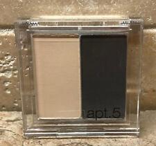 APT 5 Eyeshadow Duo Eye Makeup Compact (Pick Color) Neutral Smokey SEALED .08 oz