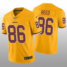 Nike Jordan Reed #86 Washington Redskins Vapor Limited NFL yellow jersey XXL