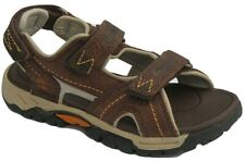 Boys Childrens Kids Brown Timberland Strap Summer Holiday Sandals Beach Size UK