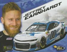 2018 Jeffrey Earnhardt VRX Simulators Chevy Camaro Daytona NASCAR MENCS postcard