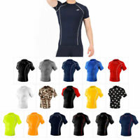 Take Five Mens Skin Tight Compression Base Layer Running Shirt S~2XL 014