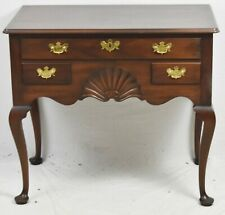 Kittinger Historic Newport HN 22 Solid Mahogany Lowboy Dresser Queen Anne