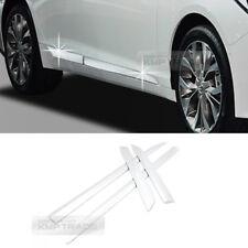 Chrome Side Skirt Accent Garnish Molding 4P C222 For HYUNDAI 2018 Sonata i45