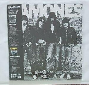 RAMONES ♦ NEW FRENCH LIMITED 2 x LP BOXSET ♦ 1976 ALBUM + ROAD TO RUIN