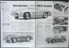 BBURAGO CHRONIK MERCEDES-BENZ 300 SL ROADSTER in 1-18... von 1999