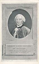 POSTCARD  PERSONS  Count  George  Louis  De  Buffon