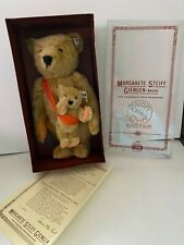 Steiff Mama and Baby Bear, #0155/38, Limited Edition Circa 1981