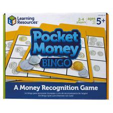 Learning Resources Pocket Money Bingo NEW