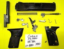 COBRA FS 380 SLIDE, BARREL, GRIP, TRIGGER ALL PARTS PICTURED 4 ONE PRICE #17-880