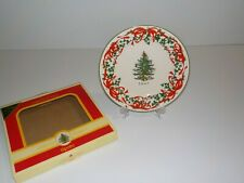 "SPODE CHRISTMAS TREE 2007 RED RIBBON LIMITED EDITION 7 3/4"" Plate"