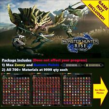 Monster Hunter Rise (mod save edit service) MAX OUT EVERYTHING
