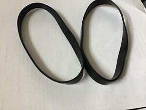 Vax Replacement Drive Belt Kit (Type 1) 1-1-130669-01 - 2 Belts V-044 V-047 Ect